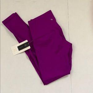 lululemon athletica Pants - Lululemon tender violet wunder under pants sz 8&10
